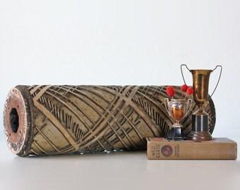 Vintage Wallpaper Printing Roller