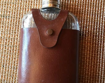 need a nip old  Flask leather cover   Hickok Top Grain Cowhide