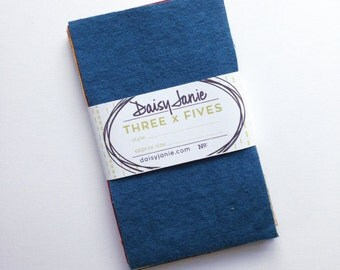 Precut Bundle - Pack of 3 x 5s - Dyed Organic Muslin