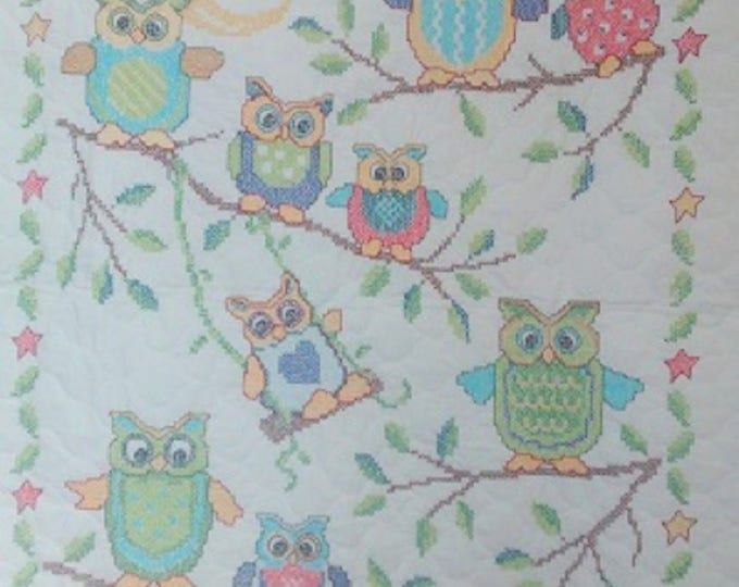 Owls Crib Cover