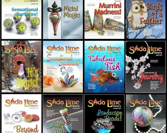 2016 - Full Year of Soda Lime Times back issues