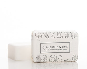 Clementine and Lime Shea Butter Soap