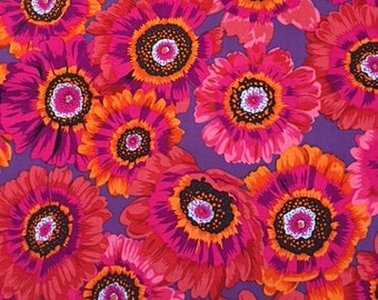 Last 1 1/2 yds.  Painted Daisy in Magenta