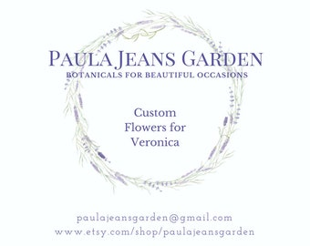 Custom for Veronica 2 Delicate Flower Crowns of IVORY Larkspur Lichens, Moss Ferns, Seeded Eucalyptus, Grasses,  dried flowers