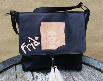 Tribute to Frida Kahlo bag