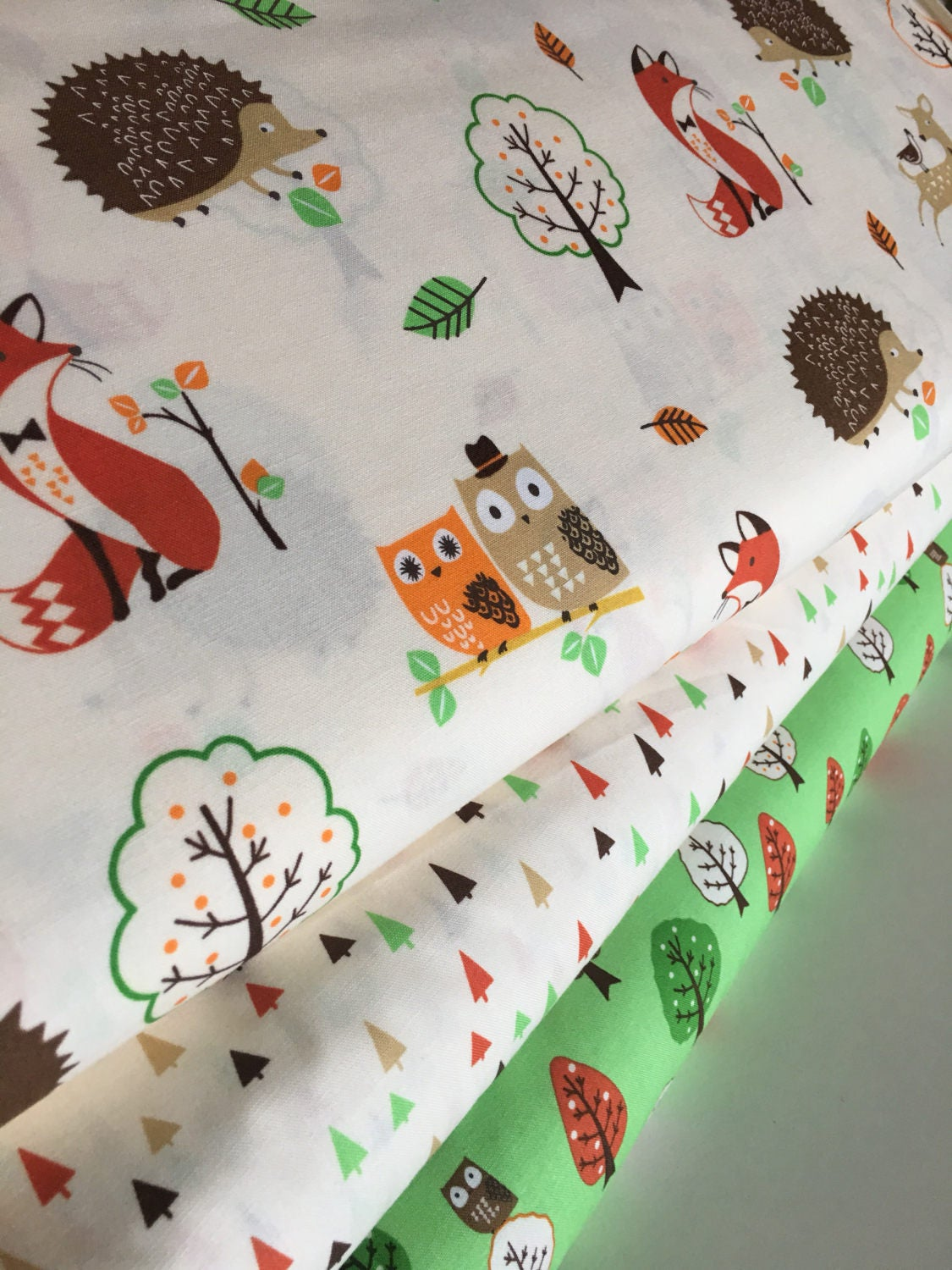 Forest fellows fabric fox fabric rustic fabric boy room for Fabric for boys room