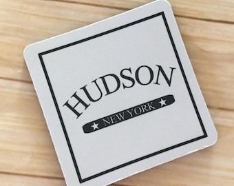 Hudson New York Coasters Set of 4