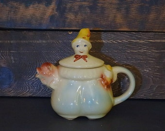 Tom Pipers Son Shawnee Teapot Pottery USA