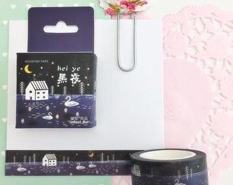 Swan Washi Tape • Planner Supplies