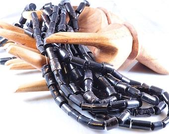 Black Coral beads | dyed black coral | black beads | coral beads