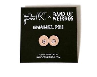 Enamel Pin - Boob Pin