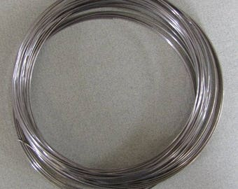 36 Loop Memory Wire, Necklace, Nickel Free, Loops, Hoops, Hardware, Steel, Beading Findings, Supplies, Clseout, Destash, Britz Beads Supply