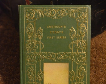 emerson essays rare books Ralph waldo emerson: selected essays  1982 penguin books, 1985) ralph waldo emerson from: $  we personally assess every book's quality and offer rare,.