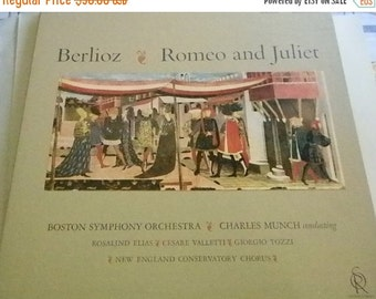 Spring is Coming Berlioz Romeo and Juliet Boston Symphony Orchestra Album Vinyl Set Date 1962
