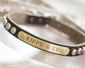 Small Leather Collar // Small Dog Collar // Small Leather Dog Collar // Leather Collar // Dog Collar // Puppy Collar // Personalized Collar