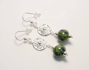 Made with Your Flower Petals, Memorial Jewelry, Personalized Jewelry, Gates of Charleston Earrings