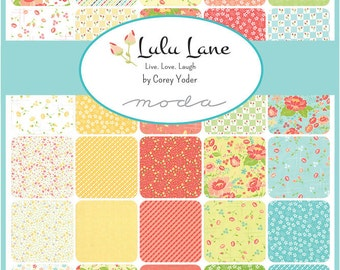 LuLu Lane (29020 AB) by Corey Yoder - Fat Quarter Bundle (38 F8's)