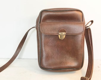 Vintage Kodak Camera Case with Cross Body Adjustable Strap