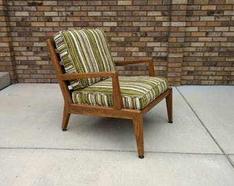 mid century DANISH modern lounge chair