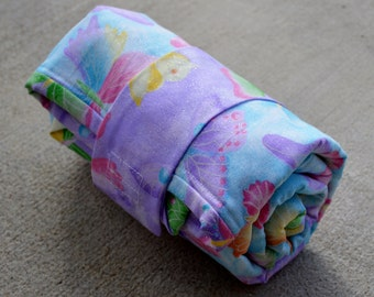 Butterfly Quilted Changing Pad ideal for diaper changing on the go