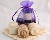 Sugar Scrub Sampler Set, Coffee Butter, Mango Sugar Scrub, Rosemary Mint