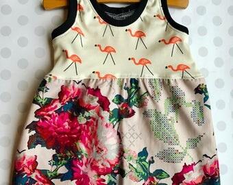 Little Girls Summer Knit Dress 12-18 months
