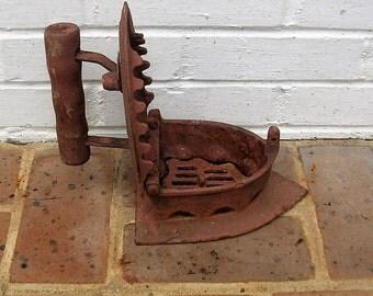 Antique Sad Iron Antique Iron Antique Coal Burning Iron Antique Door Stop
