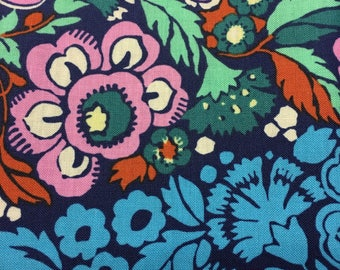 Fabric Destash Amy Butler Hapi Trapese in Ink