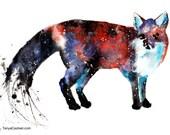 Fox Spirit Animal Art Pri...