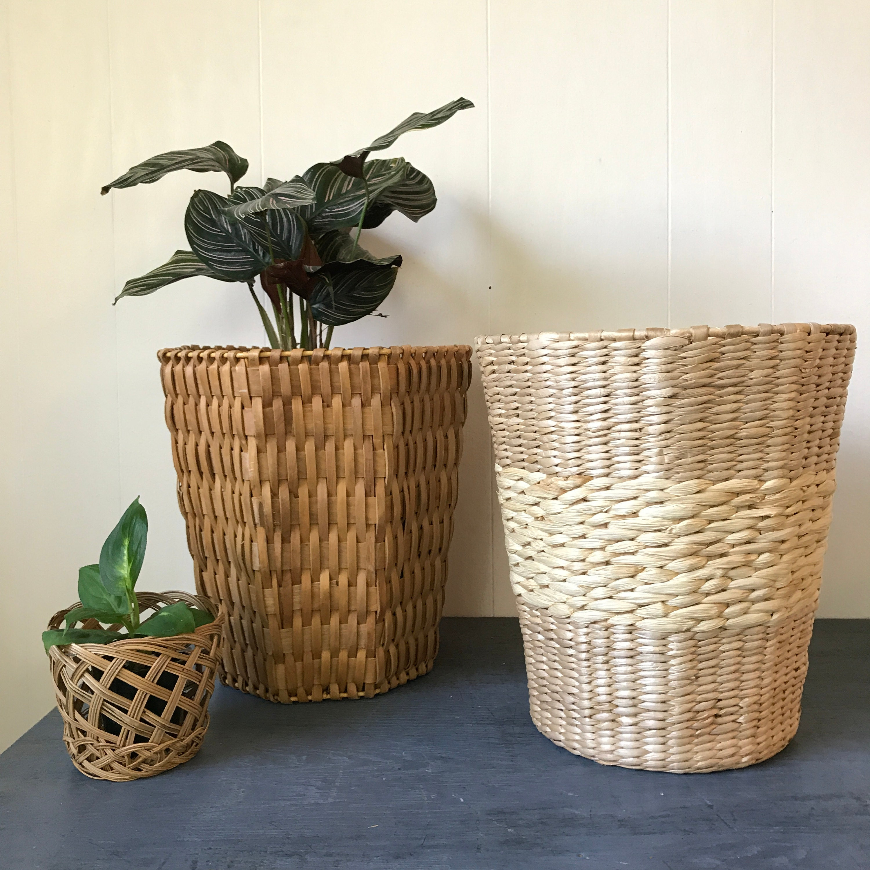 Baskets always remind me of Asian design, and most are created in Asia.