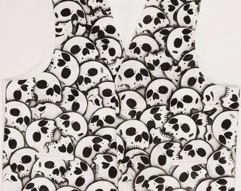 RokGear design Skull Vest Waistcoat - LIMITED