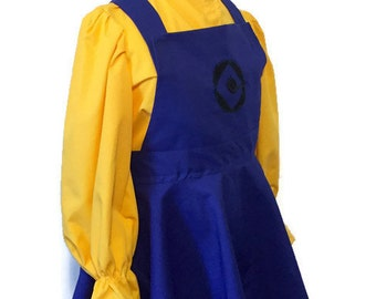 Despicable Me Minion dress and Hat