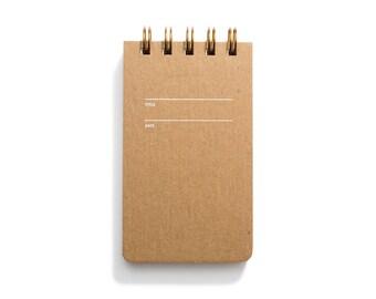 Reporter Notebook - Kraft Sketch