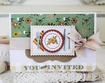 You are Invited...Handmade Card