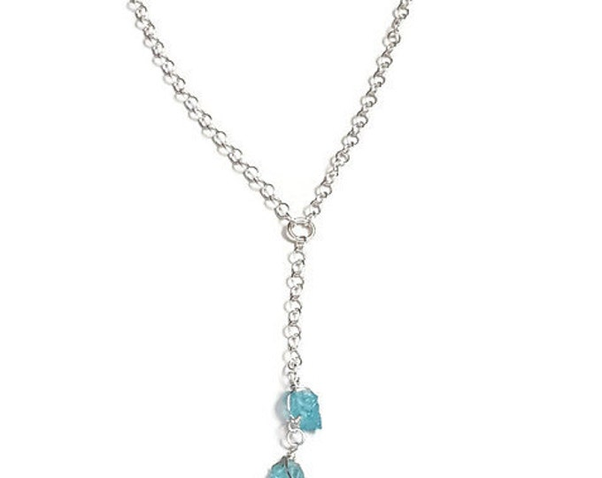 An Apatite for Love Sterling Silver Necklace