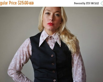 ON SALE 1970s Paragon Vest~Size Small to Medium