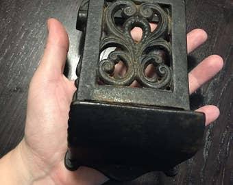 Iron matchstick holder