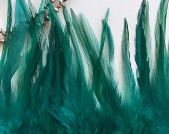 BELLA COQUE SADDLE / Dark Teal Green, Oasis  /  B - 11