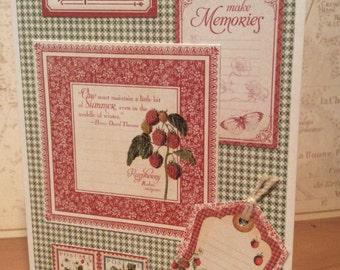 July Greeting a Card, July Birthday Card, Anniversary Card, Blank Card, Note Card
