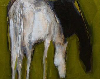 HORSE ART SUMMER Graze Colette W. Davis Art Giclee print