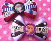 BTS Jungkook & V Wings Sexy KPOP Hair Bows