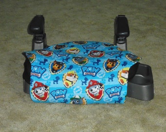 Paw Patrol (blue) toddler booster seat cover--booster seat not included
