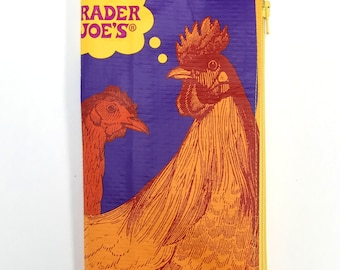 Regular/Standard size Zipper Pouch Year of the Rooster dori insert