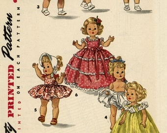 Antique Doll  Clothes Pattern Simplicity  #2B