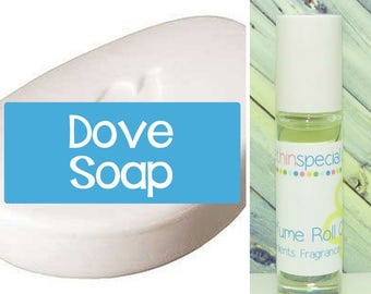 Dove Soap Perfume Roll On, Fresh Clean Scent of a Soapy Bar of Dove Soap, Soap Perfume, Soap Roll On, Dove Soap Scent, Dove Perfume Oil