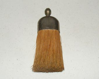 Vintage Small Whisk Broom with Metal Top