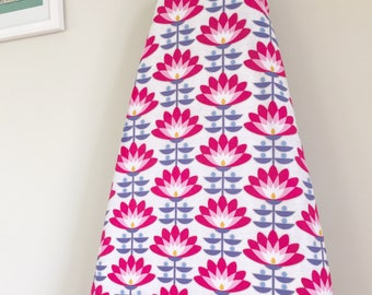 Ironing Board Cover - Deco Bloom in Fuchsia