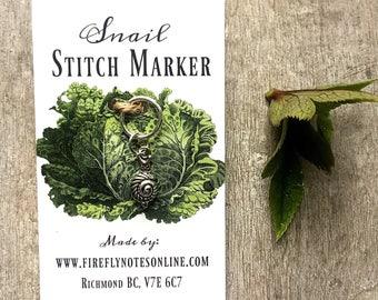 Snail stitch marker, 12 mm snag free