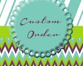 custom listing for Alaina
