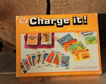 Charge it! vintage card game